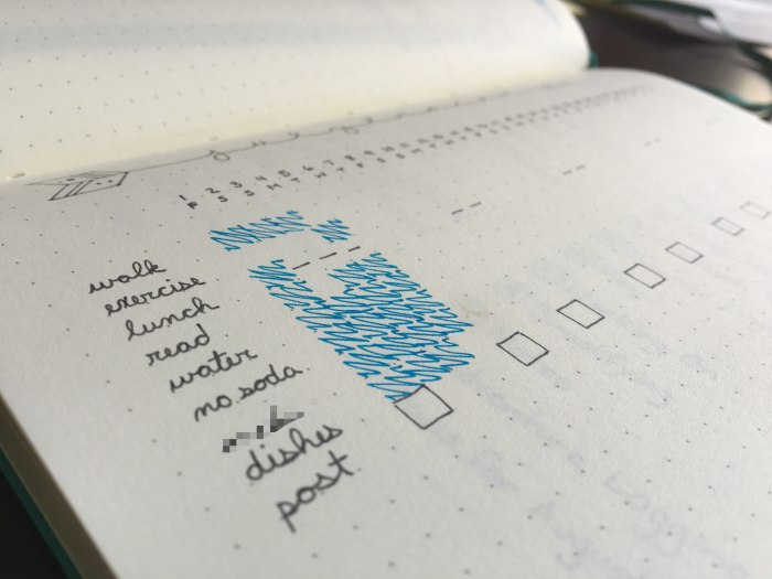 Bullet Journal: Goal Tracking